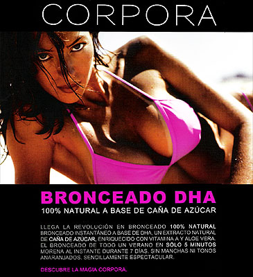 Bronceado Natural en cinco minutos
